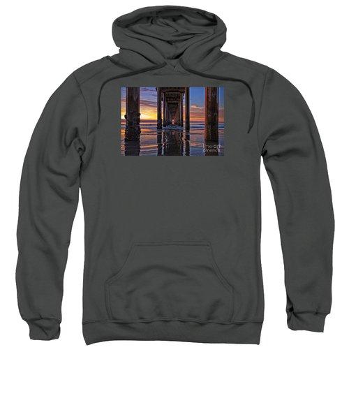 Under The Scripps Pier Sweatshirt