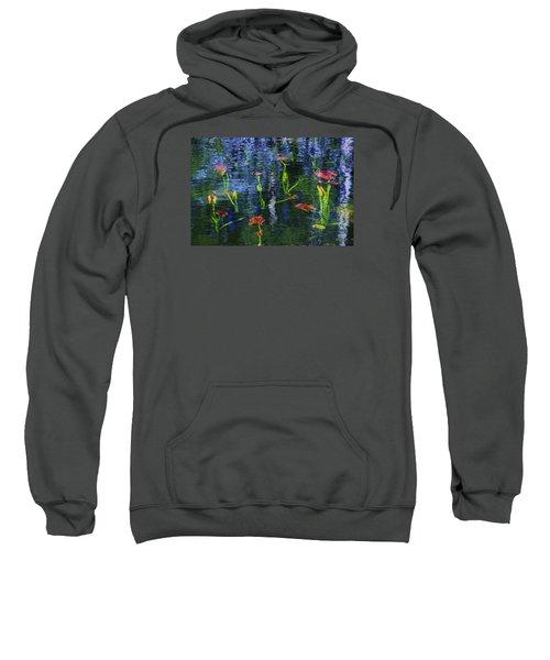 Underwater Lilies Sweatshirt