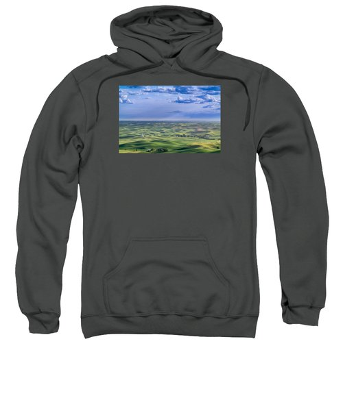 Undulating Palouse Wheatfields Sweatshirt