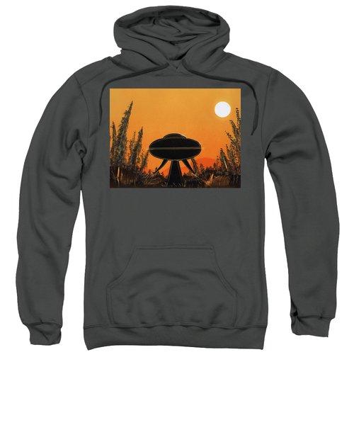 Unidentified Flying Object Landing Sweatshirt