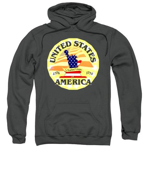 United States Of America Design Sweatshirt