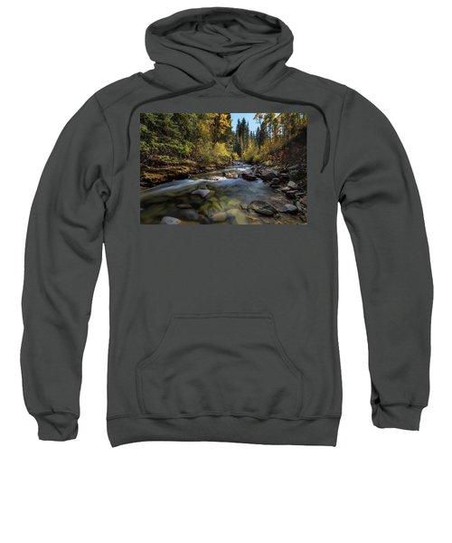 Up A Colorado Creek Sweatshirt
