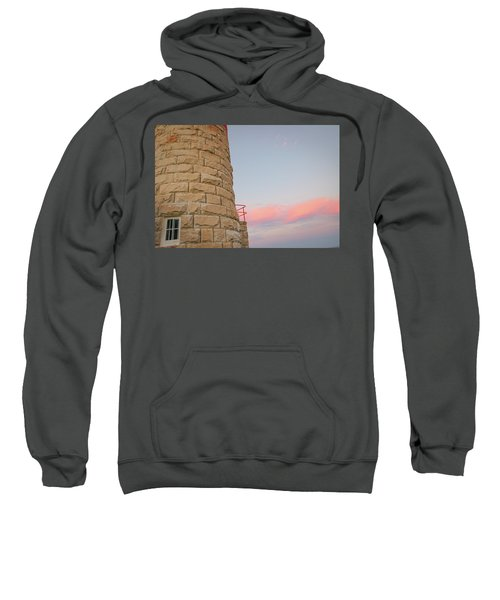 Close-up Detail Of The Cape Moreton Lighthouse Sweatshirt