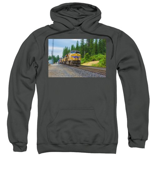 Sweatshirt featuring the photograph Up5698 by Jim Thompson