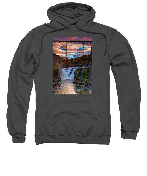 Upper Falls Letchworth State Park Sweatshirt