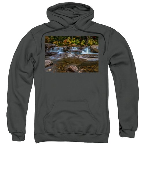 Upper Swift River Falls In White Mountains New Hampshire Sweatshirt