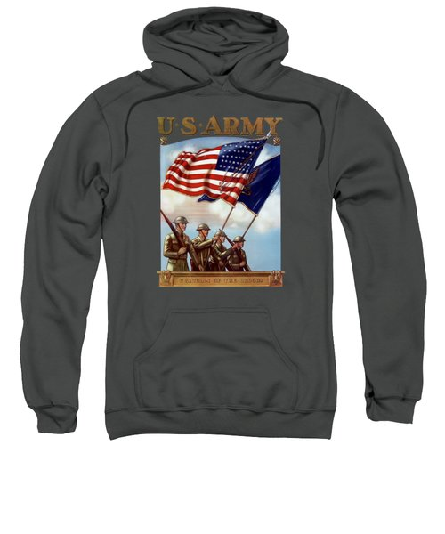 Us Army -- Guardian Of The Colors Sweatshirt