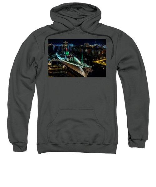 Uss Wisconsin Sweatshirt