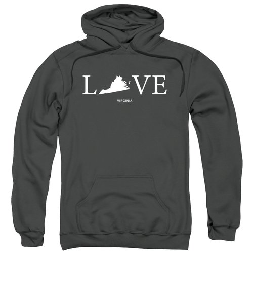 Va Love Sweatshirt by Nancy Ingersoll