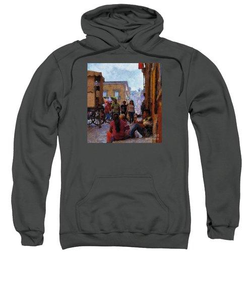 Van Gogh Visits Mexico Sweatshirt