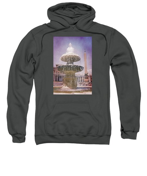 Vatican City Fountain Sweatshirt