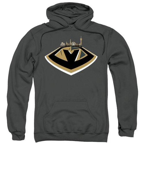 Vegas Golden Knights With Skyline Sweatshirt