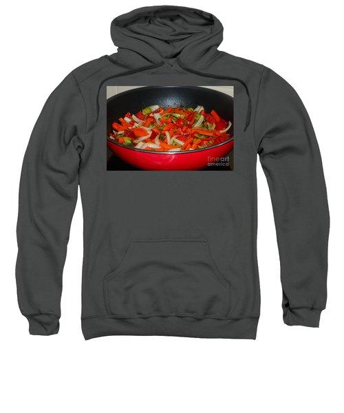 Vegetable Stir Fry By Kaye Menner Sweatshirt by Kaye Menner