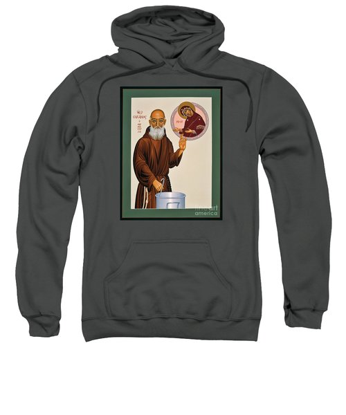 Venerable Fr. Solanus Casey The Healer 038 Sweatshirt