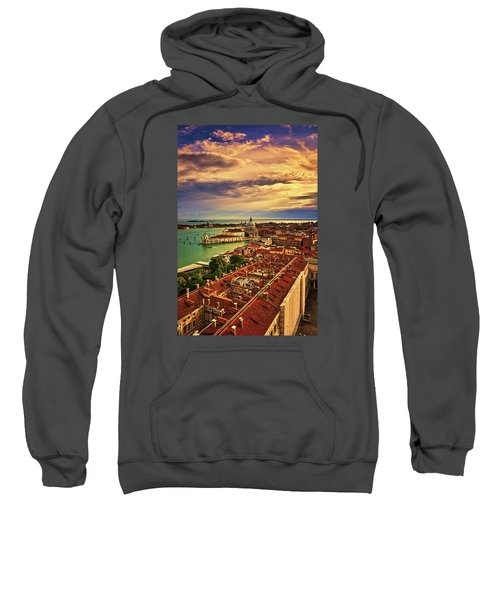 From The Bell Tower In Venice, Italy Sweatshirt