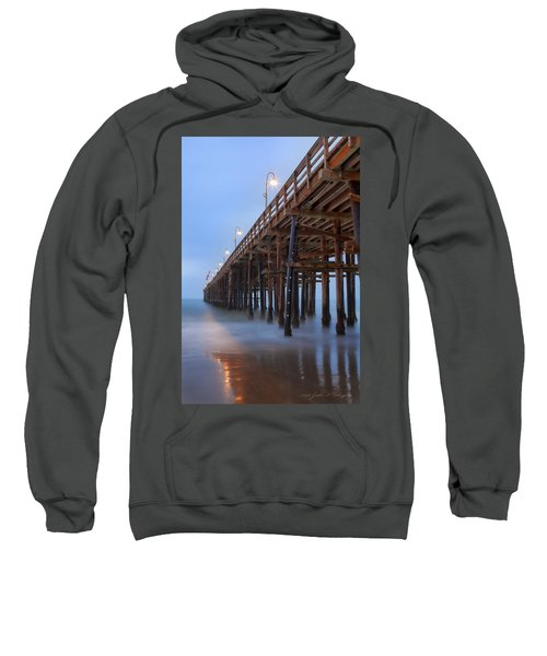 Ventura Ca Pier At Dawn Sweatshirt