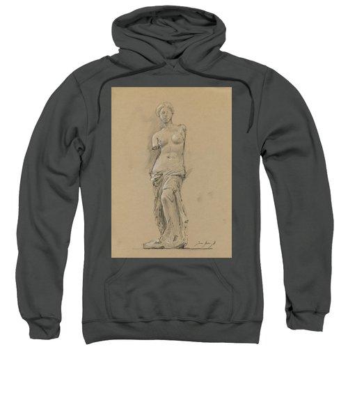 Venus De Milo Sweatshirt by Juan Bosco