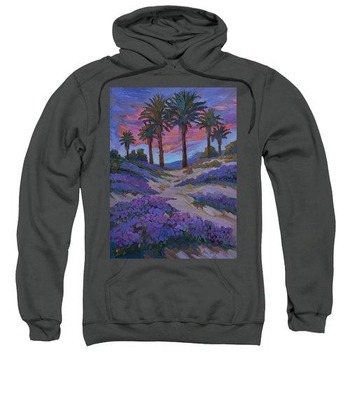 Verbena And Desert Sunrise Sweatshirt