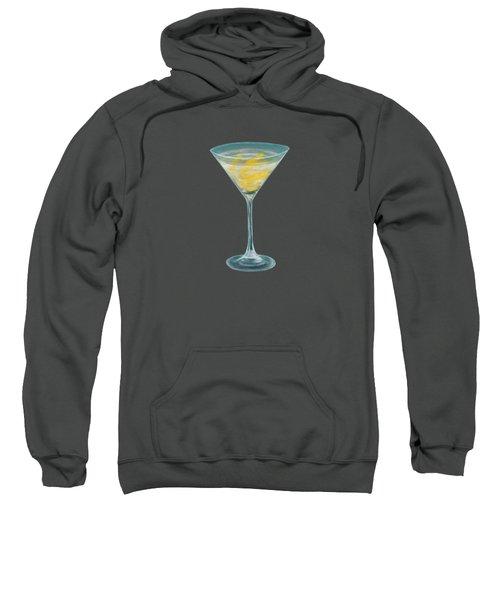 Vesper Martini Sweatshirt by Anastasiya Malakhova