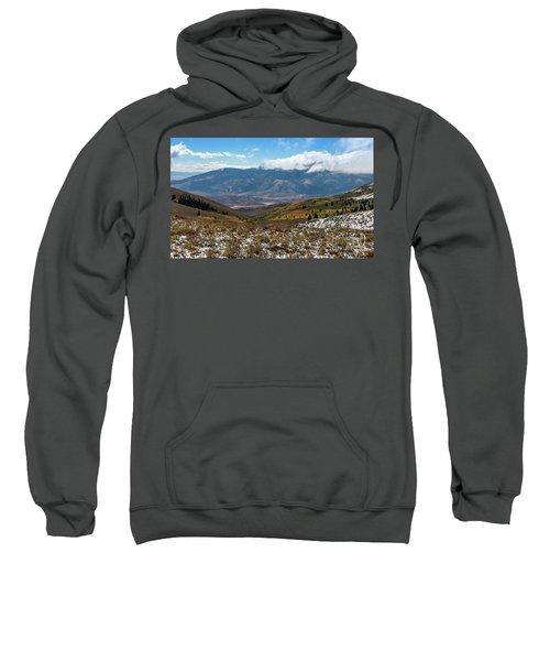 Vibrance Of The Storm Idaho Landscape Art By Kaylyn Franks Sweatshirt