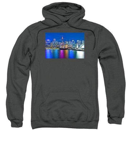 Vibrant Darling Harbour Sweatshirt by Az Jackson