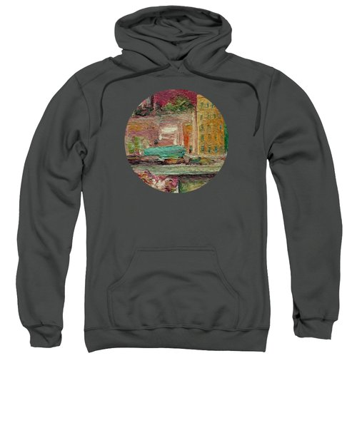 View From A Balcony Sweatshirt