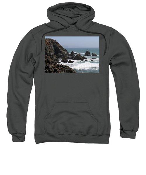 View From Bodega Head In Bodega Bay Ca - 4 Sweatshirt