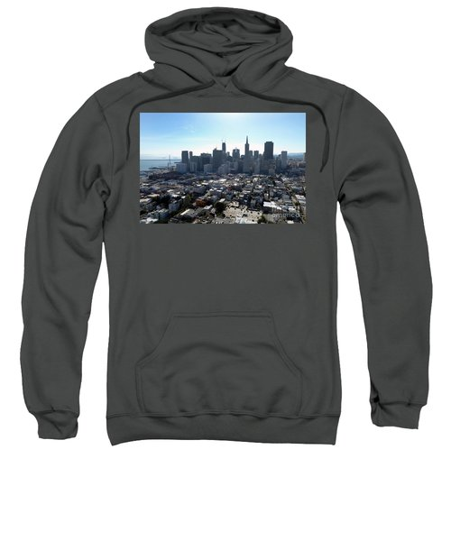 View From Coit Tower Sweatshirt