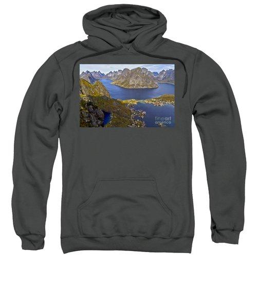 View From Reinebringen Sweatshirt