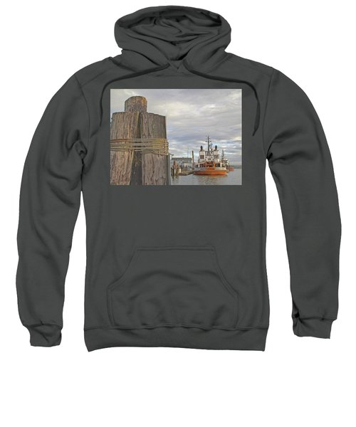 View From The Pilings Sweatshirt