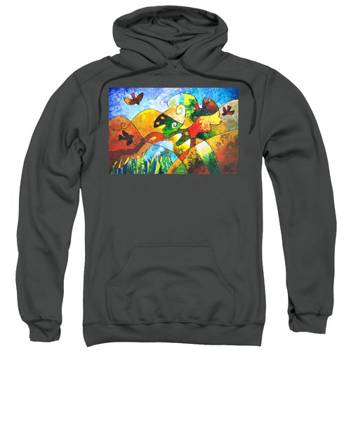 View From Valley Road Sweatshirt