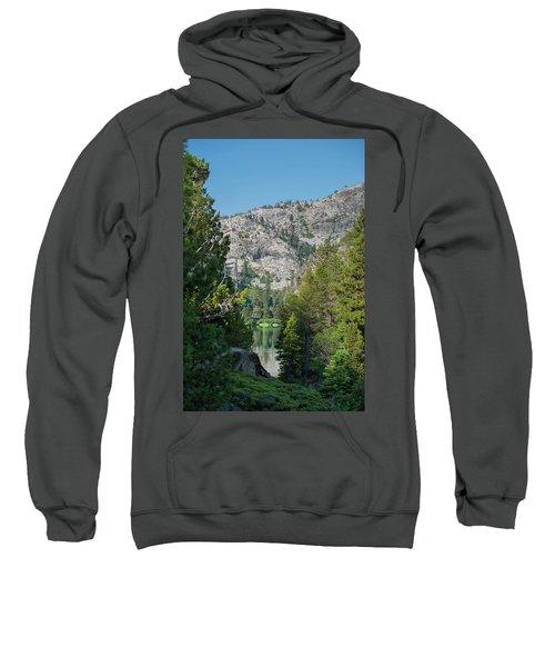 View Of Eagle Lake Sweatshirt
