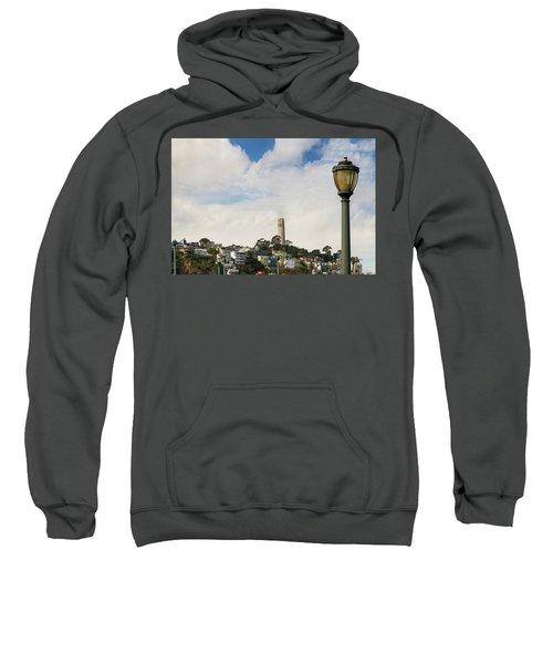 View Of Telegraph Hill Neighborhood San Francisco Sweatshirt