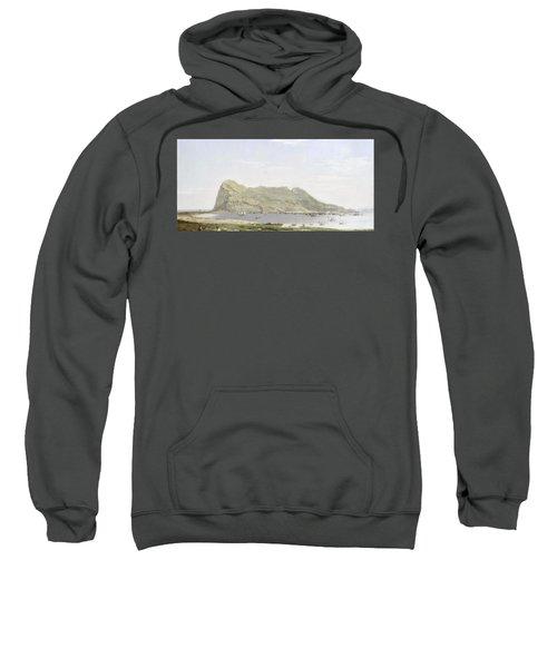 View Of The Rock Of Gibraltar Sweatshirt