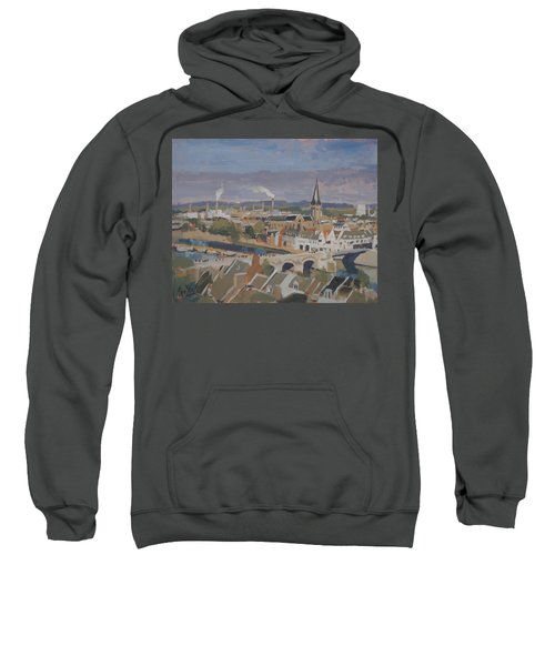 View To The East Bank Of Maastricht Sweatshirt