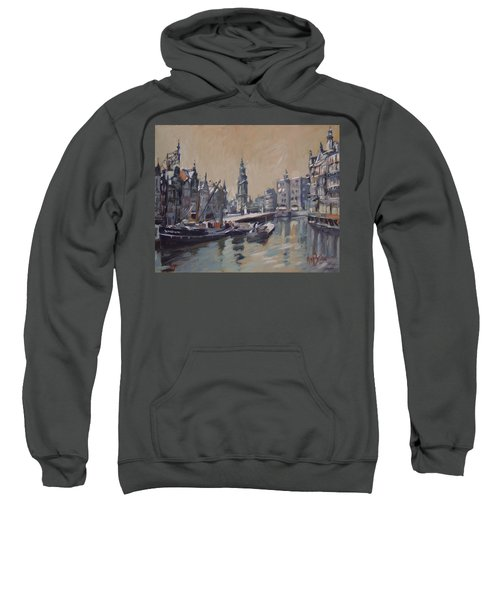 View To The Mint Tower Amsterdam Sweatshirt by Nop Briex