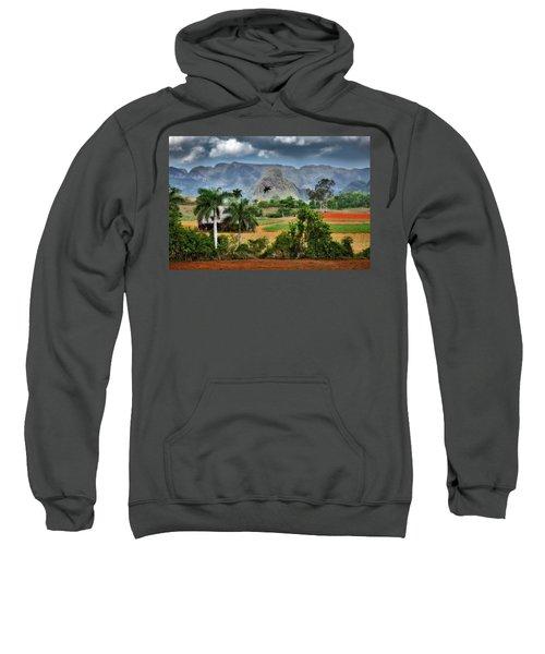 Vinales. Pinar Del Rio. Cuba Sweatshirt