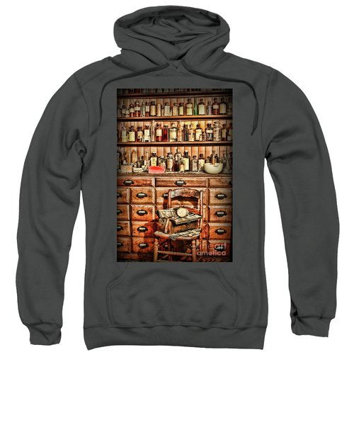Vintage Apothecary Cabinet Sweatshirt