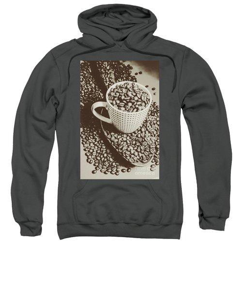 Vintage Coffee Art. Stimulant Sweatshirt