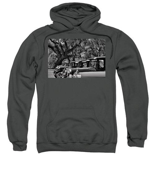Vintage Ford Line-up At Magnolia Plantation - Charleston Sc Sweatshirt