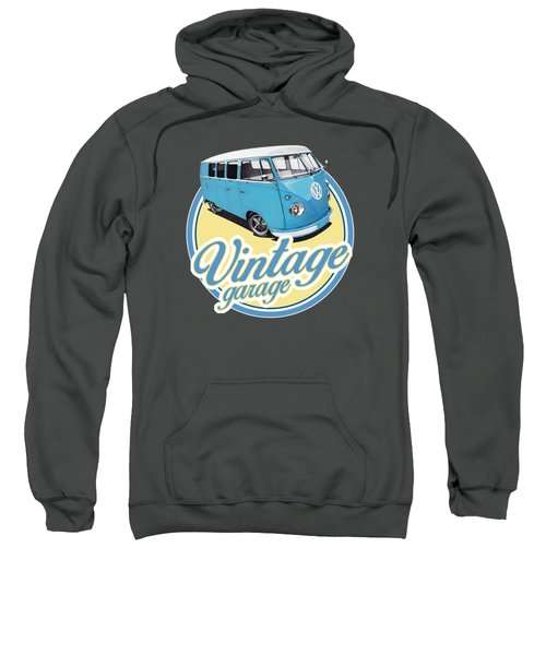 Vintage Garage Bus Sweatshirt