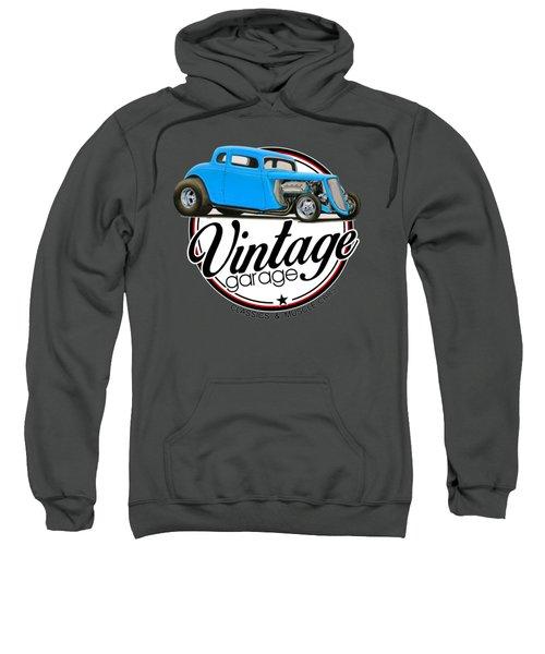 Vintage Garage Hot Rod Sweatshirt