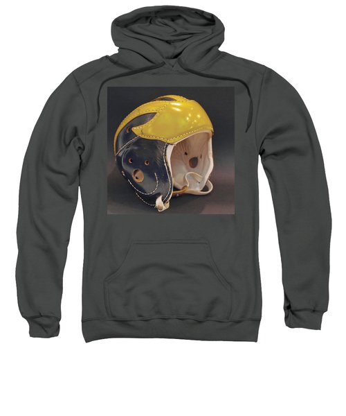 Vintage Leather Wolverine Helmet Sweatshirt