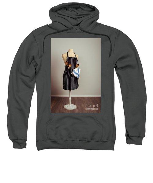 Vintage Mannequin With Kitchen Utensils Sweatshirt
