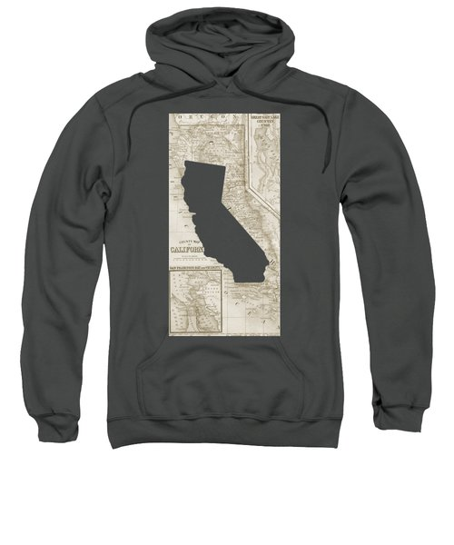 Vintage Map Of California Phone Case Sweatshirt