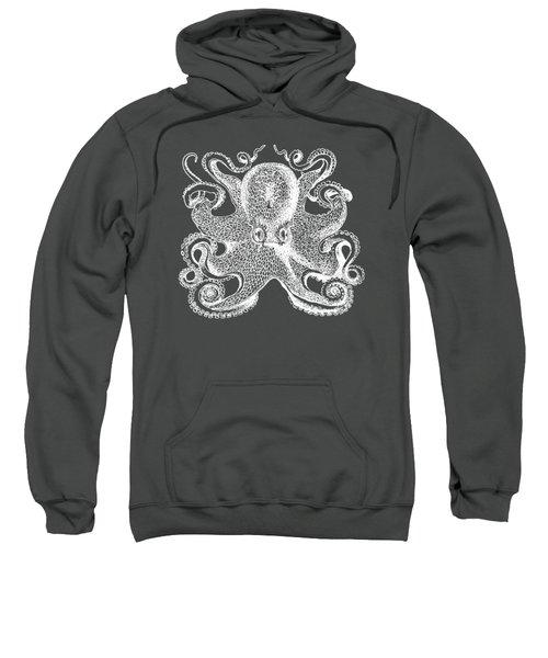 Vintage Octopus Illustration Sweatshirt