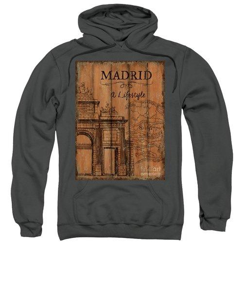 Vintage Travel Madrid Sweatshirt