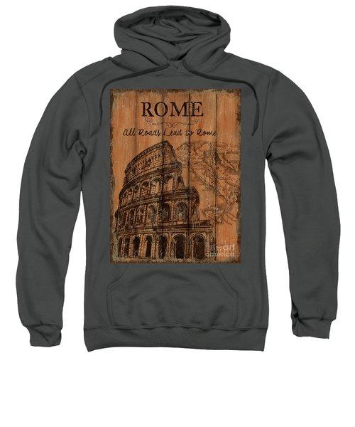 Vintage Travel Rome Sweatshirt