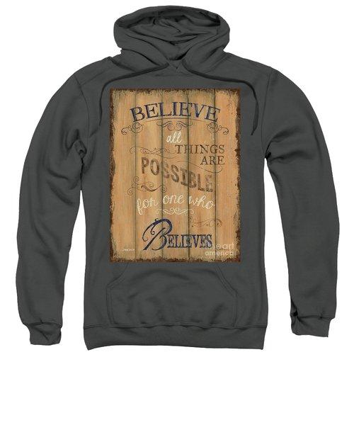 Vintage Wtlb Believe Sweatshirt