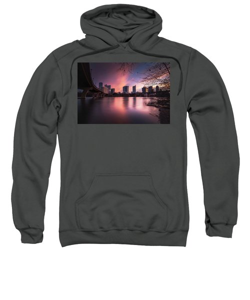 Violet Crown Sweatshirt